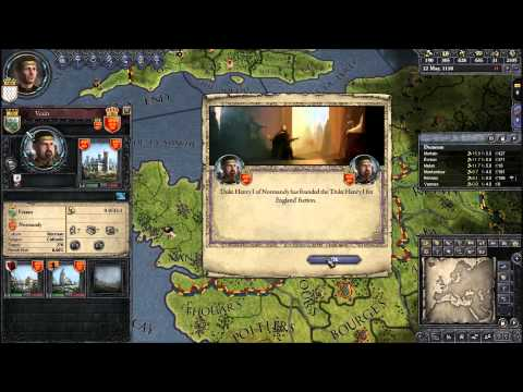 Let's Play Crusader Kings II 15 (Killing Off Unwanted Heirs, As The World Turns, Rogue Baronies)