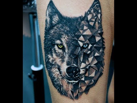 Wolf Tattoo Designs Ideas for Men and Women