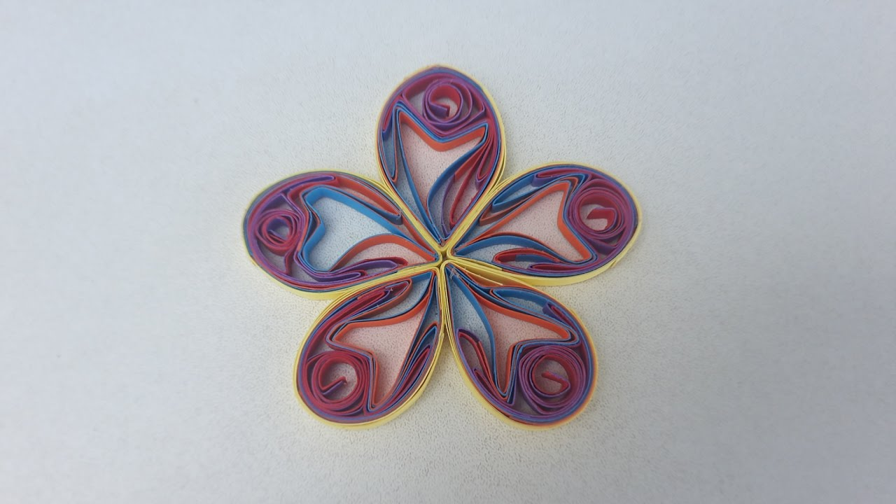 How To Make Beautiful Mulity Color Quilling Flower Paper Quilling Flower  Using Ab By Art Life