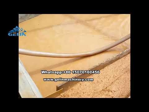 Alluvial gold mining equipments