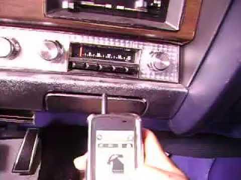 1970 Pontiac LeMans (GTO) AM MP3 radio