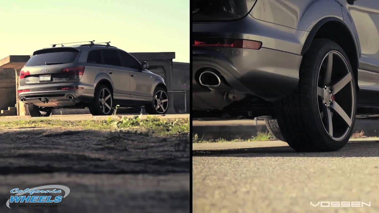 Audi q7 suv vossen wheels tuning cars wallpaper - Audi Q7 Sport Tdi