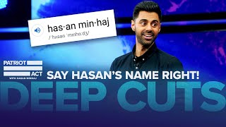 Hasan Hears Hot Takes From The Audience | Deep Cuts | Patriot Act with Hasan Minhaj | Netflix