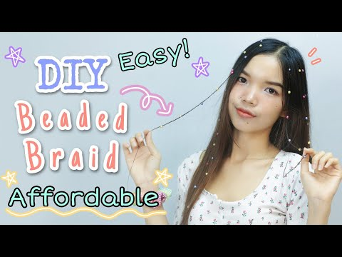 diy-beaded-braids-hairstyle-|-easy-beaded-braids-|-affordable-|-chenda-keo