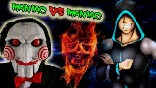 Frost И Parnisha Против Маньяка №2 Испытания Маньяка!