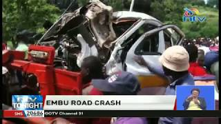 One person dies, 29 others injured in road accident at Rupingazi bridge, Embu County