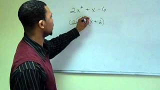 Simplifying Algebraic Expressions: Factoring
