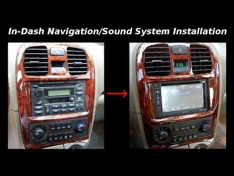 In-Dash Navigation/Sound System/Backup Camera Installation