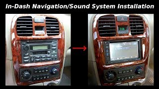 How To Install In-Dash Navigation/Sound System/Backup Camera
