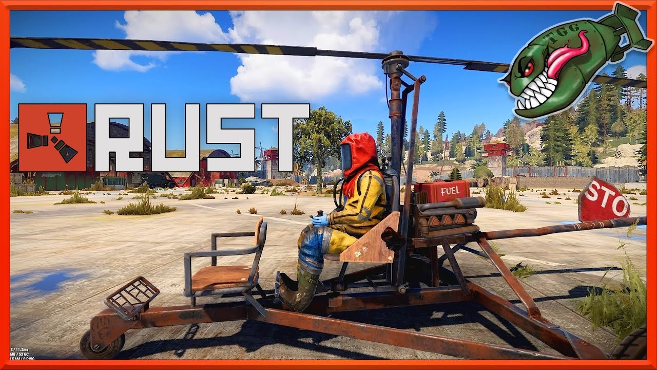 Rust What's Coming | MiniCopter in Game, How to Fly, Fail Parking #171  (Rust News & Updates)