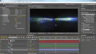 AE: Erstellen Sie eine Glitch-Effekt in After Effects
