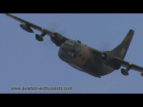 2013 Thunder Over Michigan Air Show C-123 Vietnam reenactment flight (Sunday)