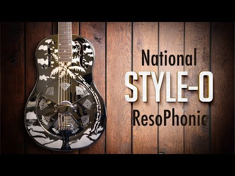 National Style-O 14-Fret Demo with Dom Turner