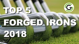 Top 5 Forged/Players Irons 2018