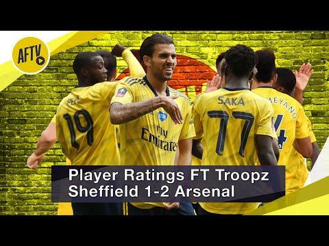 """We're Winning Away""  -  Player Ratings Ft Troopz | Sheffield Utd 1-2 Arsenal"