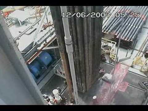 Oil rig blowout, june 07