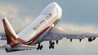 LAST BOEING 747-200 DEPARTURE - END of an ERA