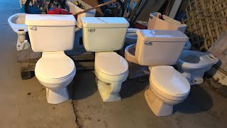 3 Newly-Acquired Toilets!