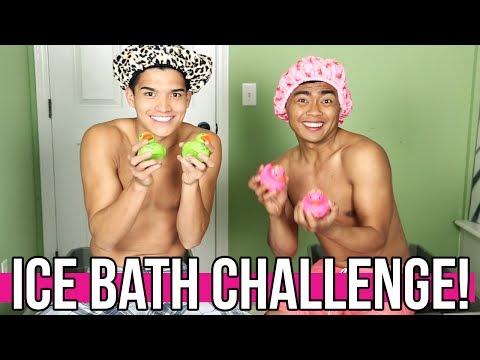 ICE BATH CHALLENGE!