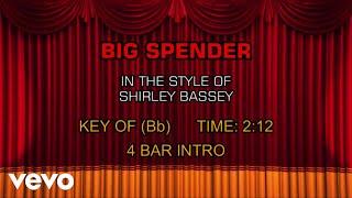 Shirley Bassey - Big Spender (Karaoke)