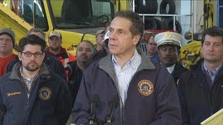 Cuomo updates Winter Storm Knife situation