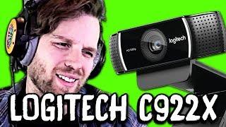 NO GREENSCREEN NEEDED?! Logitech C922X Webcam Review & Comparison Vs C920