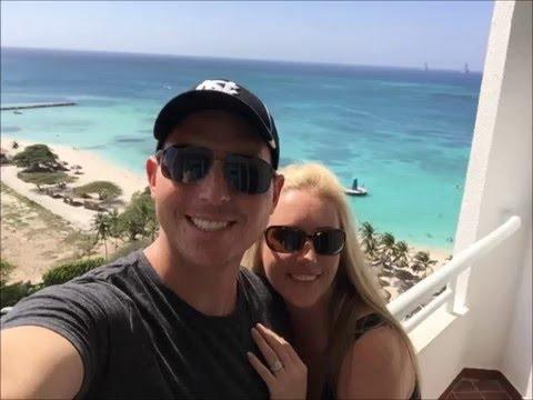 Jesse and Julie's Honeymoon In Aruba- October 2015