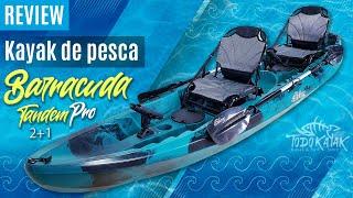 "Vídeo: Kayak de pesca familiar ""Barracuda Tandem Pro"""