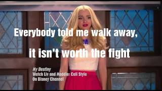Скачать Dove Cameron My Destiny Lyrics