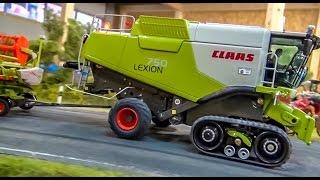 RC combine harvester CLAAS LEXION! Dream model by Farmworld Fehmarn!