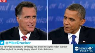 Presidential Debate: Obama: Romney Wants to