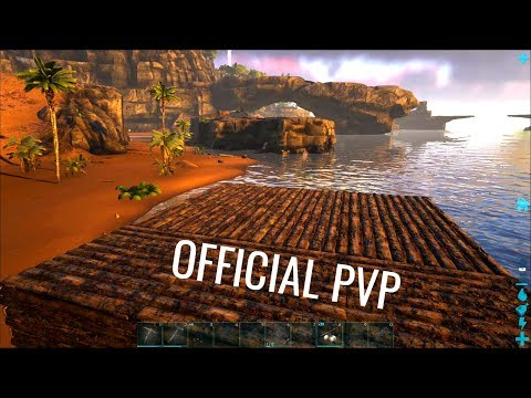 STARTING IN RAGNAROK - Official PVP (E1) - ARK Survival