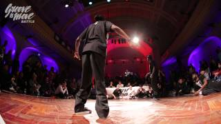 GROOVE'N'MOVE BATTLE 2015 - Popping semi-final / Phil Boog vs Poppin Prince
