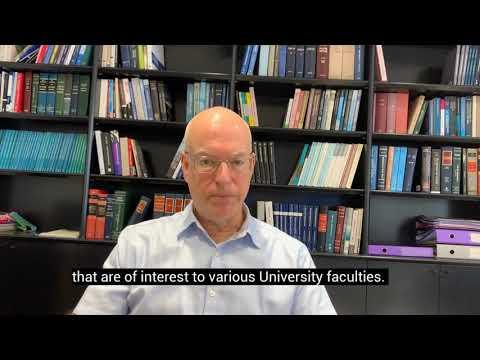 Tel Aviv University's President, Prof. Ariel Porat.