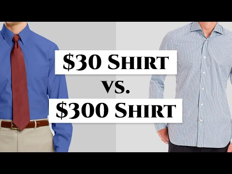 $30 vs $300 Men's Dress Shirt - How To Spot Quality Shirts & Avoid Crap- Gentleman's Gazette