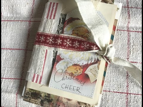 Ideas For Christmas | Idea 6: Fun And Easy Junk Journal