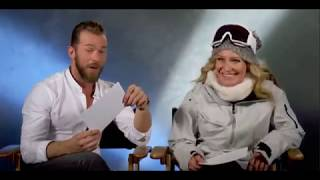 Artem Chigvintsev and Jamie Anderson  - DWTS Athletes Introduction