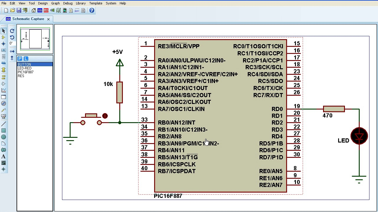 PIC16F887 Timers and Interrupts with CCS C Compiler