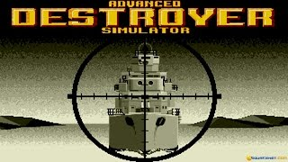 Advanced Destroyer Simulator gameplay (PC Game, 1990)