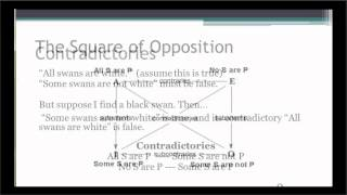 Square Of Opposition Pt 1
