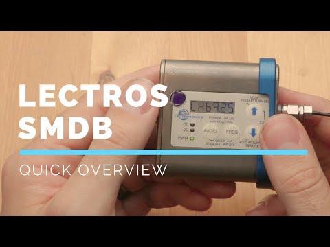 Lectrosonics SMDB / SMB Settings Overview