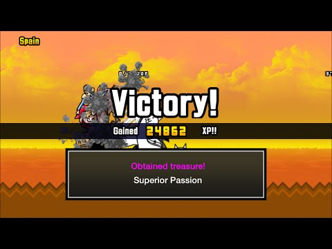 [The Battle Cats] How to get Superior Treasure 2: Spain