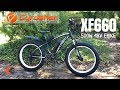 Cyrusher XF660 Fat Tire eBike | 500W hub motor + 48V Battery