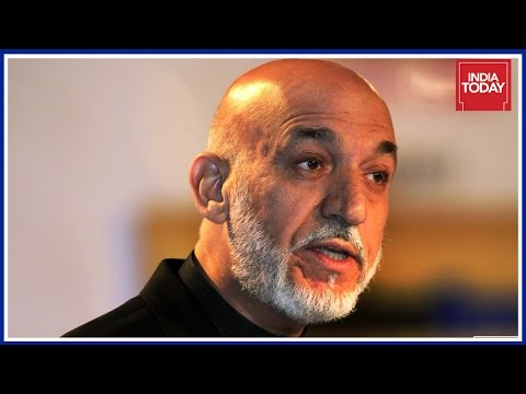 Hamid Karzai Condemns US Bombing On Afghanistan