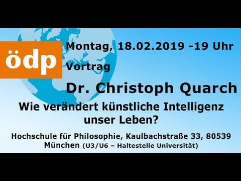 ÖDP-Vortrag 18.02.2019 // Dr. Christian Quarch: