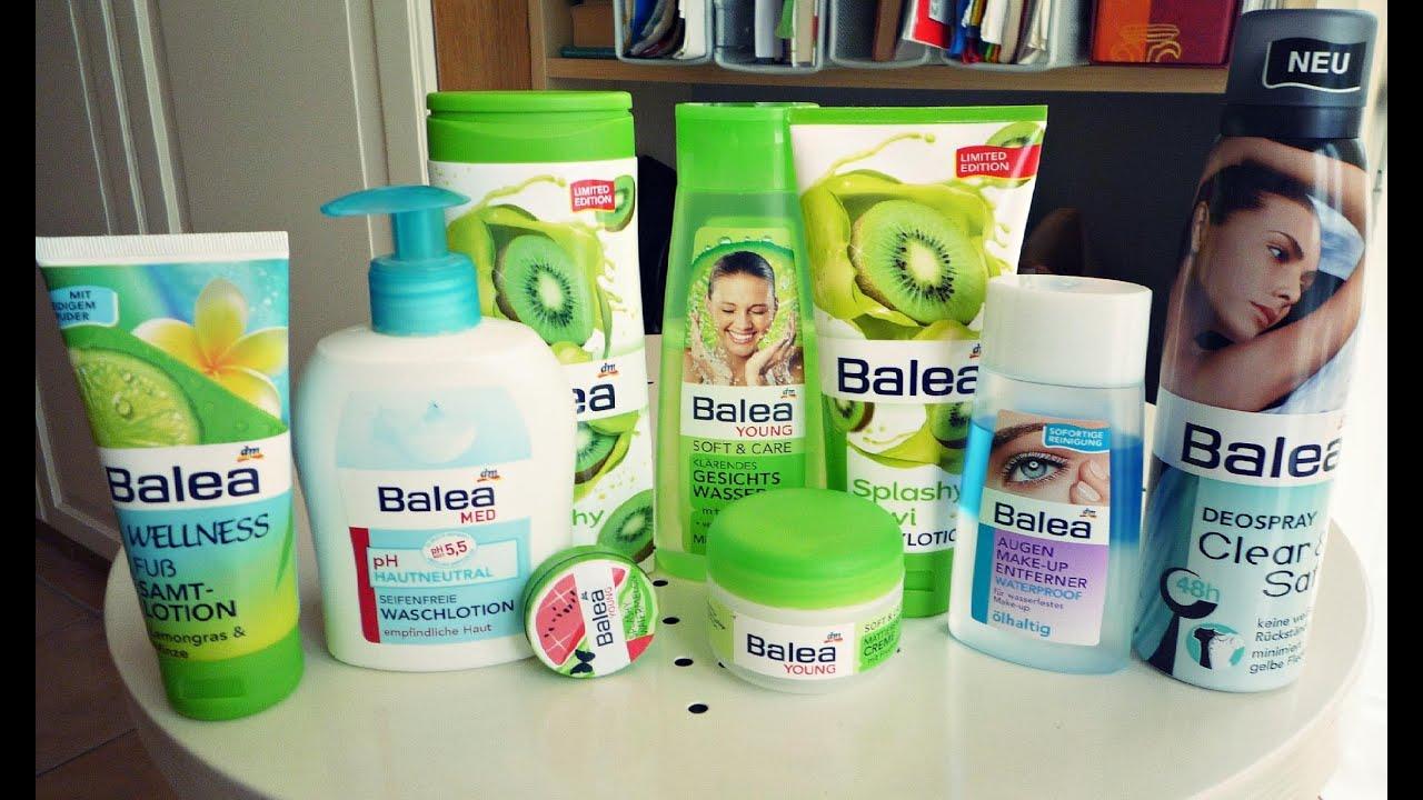 Review - Meine Produkte Von Balea