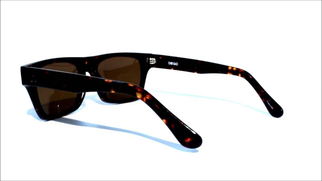 c25e6420df ASHBURY Eyewear Diego Sunglasses w Premium Carl Zeiss Optics Lenses ...