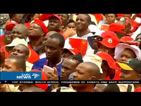COSATU members in Limpopo marched to Anglo Platinum offices