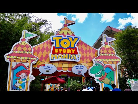 Toy Story Mania Complete Ride Experience in 4K | Disney's Hollywood Studios Walt Disney World 2021 |