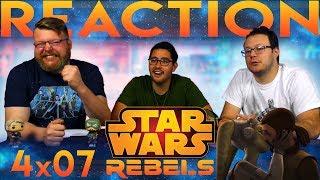 Star Wars Rebels 4x7 REACTION!!